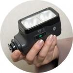 家庭用ビデオカメラのライト