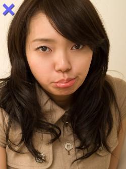 【ダメ写】せっかくキレイな顔立ちでも、唇の形だけでダメ写に。