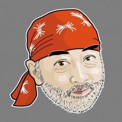 Illustrator CS6 で描いた自画像