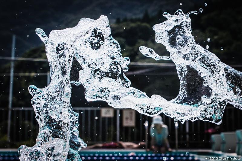 光景写真-2013 やまびこ荘・温水プール